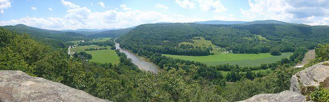 Catskill Mountains - View from Pratt Rock Park